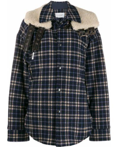 Длинная куртка - синяя Forte Dei Marmi Couture