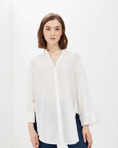 Белая рубашка с длинным рукавом Broadway