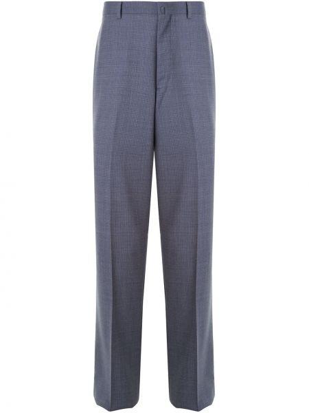 Брючные брюки с поясом на пуговицах с высокой посадкой D'urban