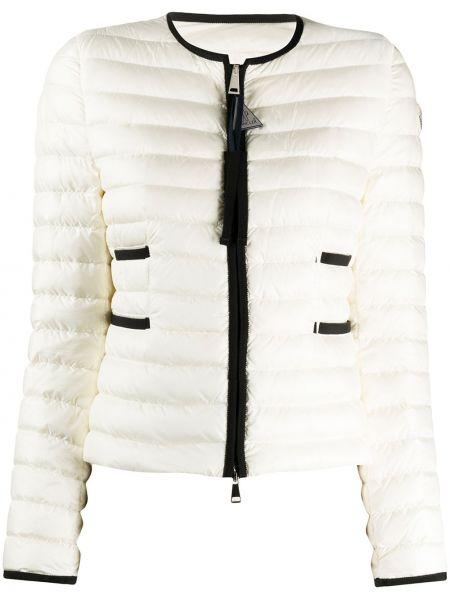 Стеганая куртка на молнии укороченная Moncler