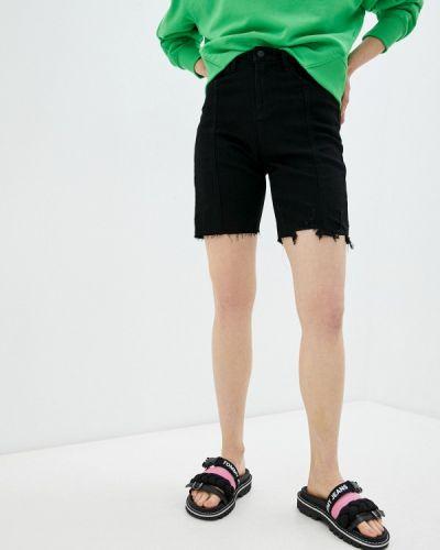Черные джинсовые шорты Moki