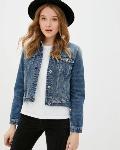 Синяя джинсовая куртка Scotch&soda