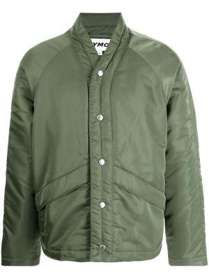Zielona kurtka pikowana Ymc