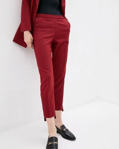 Прямые брюки - красные Zubrytskaya