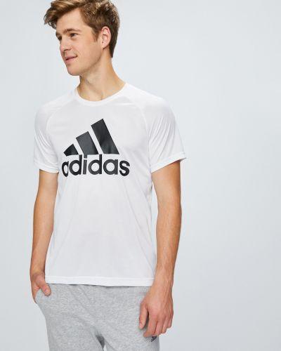 Футболка с принтом с узором Adidas Performance