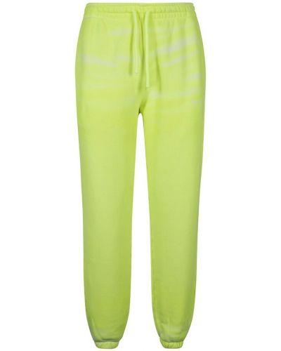 Zielone spodnie Alexander Wang