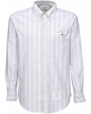 Koszula klasyczna Oxford z logo Thom Browne
