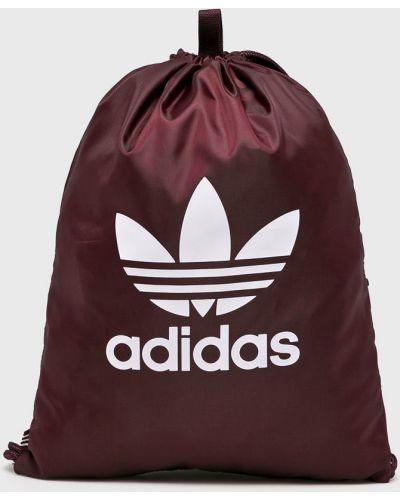 Малиновый рюкзак с отделениями Adidas Originals