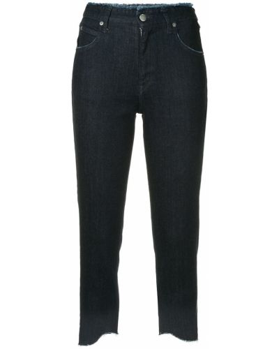 Укороченные джинсы mom синие Guild Prime