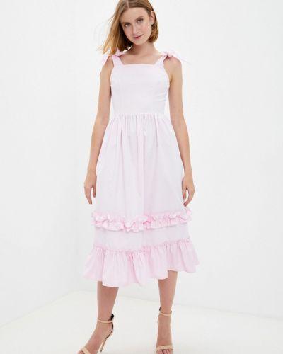 Розовое весеннее сарафан M,a,k You Are Beautiful