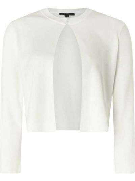 Biały bolerko okrągły dekolt okrągły Esprit Collection