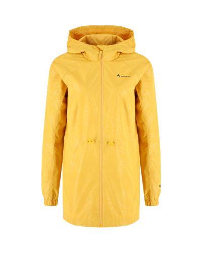 Прямая желтая куртка на молнии Outventure