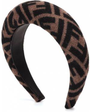 Ободок на голову шелковый Fendi
