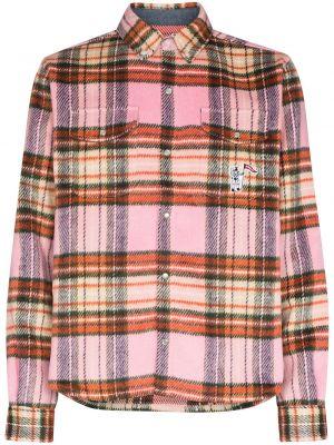 Рубашка с длинным рукавом - розовая Billionaire Boys Club