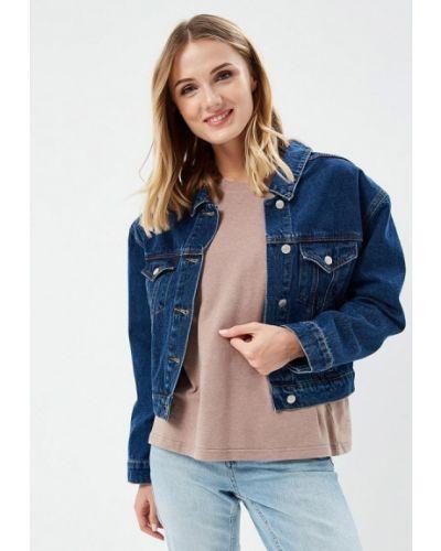 Джинсовая куртка весенняя синий 12storeez