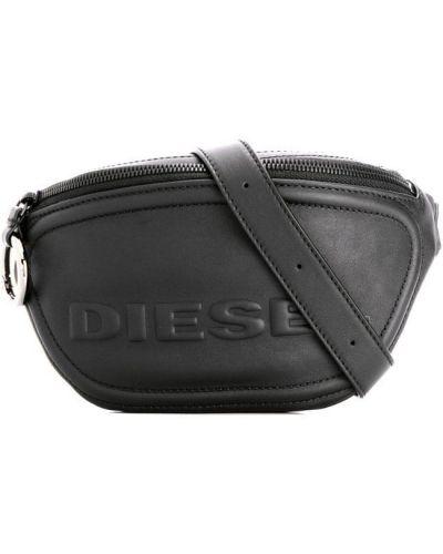 Поясная сумка черная Diesel
