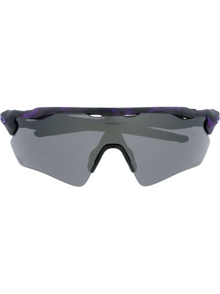 Fioletowe okulary oversize Oakley