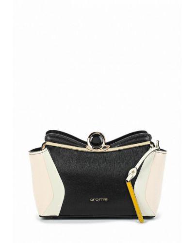 Черная сумка через плечо Cromia