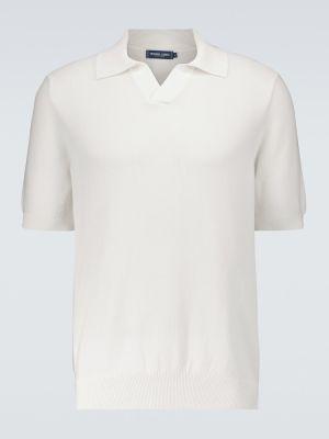 Открытая шелковая белая рубашка Frescobol Carioca