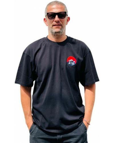 Czarna t-shirt Edwin