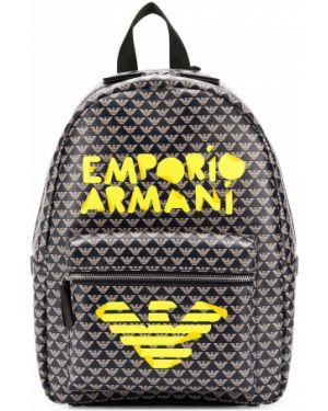 Рюкзак с логотипом Emporio Armani Kids