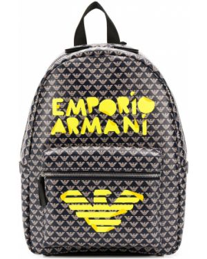 Кожаный рюкзак Emporio Armani Kids