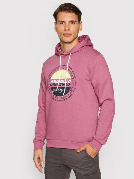 Bluza - różowa Jack&jones