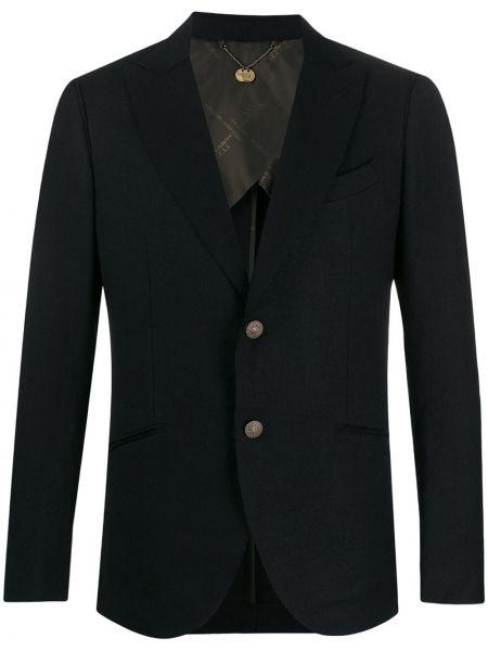 Хлопковая черная куртка Maurizio Miri