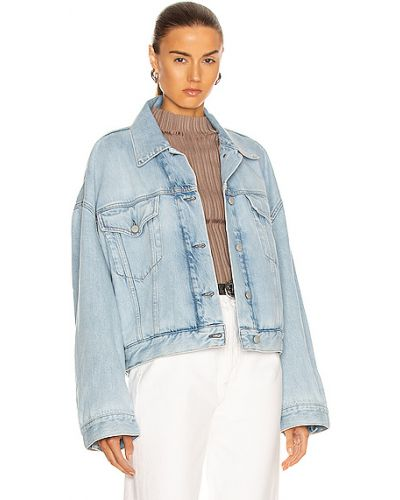 Niebieskie jeansy bawełniane Acne Studios