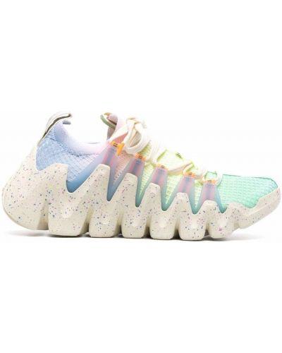 Кроссовки на каблуке - синие Li-ning