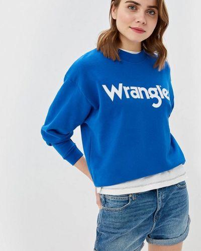 Свитшот синий Wrangler