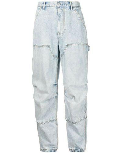 Mom jeans - niebieskie Alexander Wang