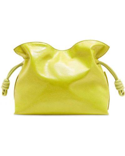 Kopertówka skórzana - żółta Loewe