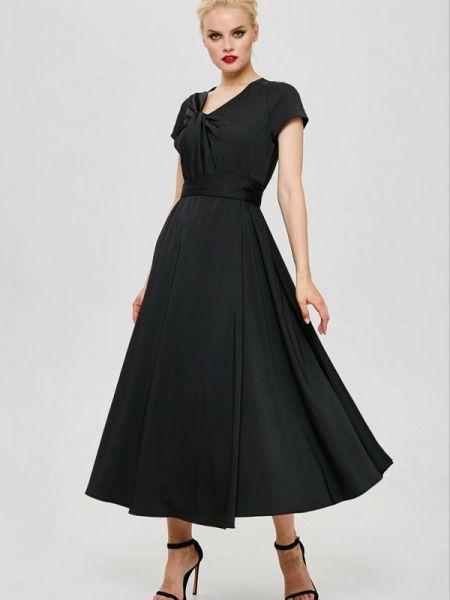 Черное вечернее платье Yulia'sway