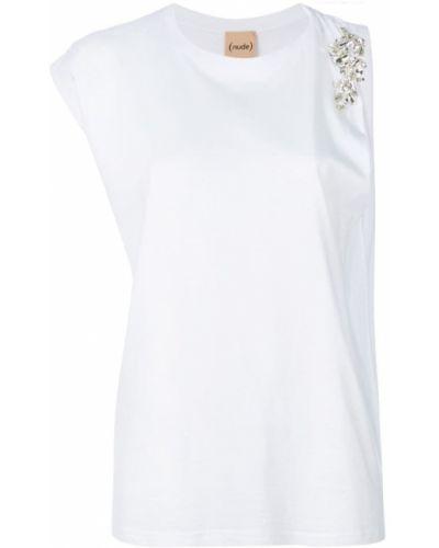 Белая рубашка хлопковая Nude