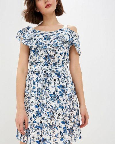 Платье с открытыми плечами весеннее Liu Jo