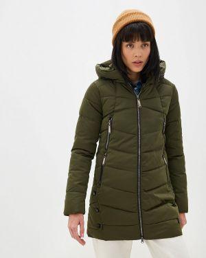 Зимняя куртка осенняя зеленая Winterra