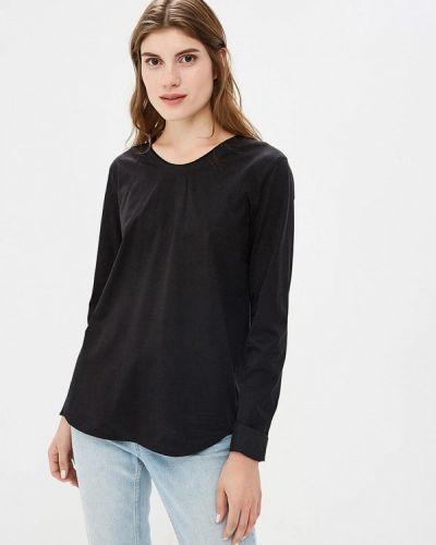 Черная блузка осенняя Hassfashion