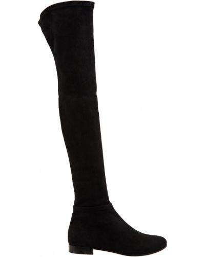 Сапоги-чулки кожаные высокие Jimmy Choo