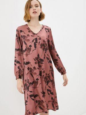 Повседневное красное платье синар