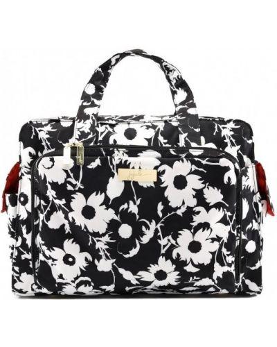 Дорожная сумка белый черно-белый Ju-ju-be