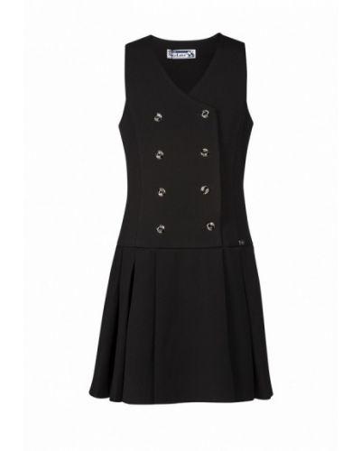 Черное платье осеннее Sky Lake