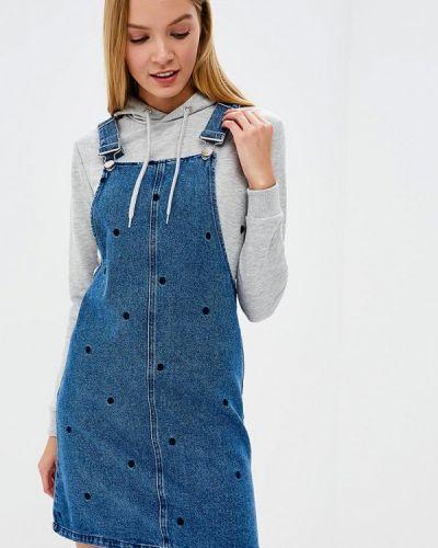 Платье мини джинсовое осеннее Dorothy Perkins