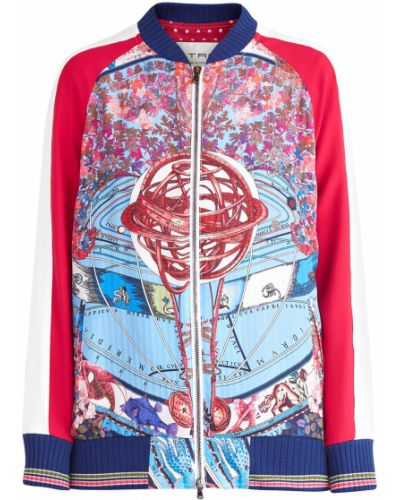 Спортивная куртка однотонная с рукавом реглан Etro