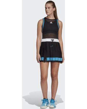 Платье со вставками сетчатое Adidas
