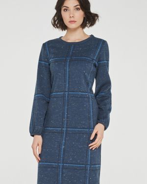 Платье миди в клетку платье-сарафан Vay