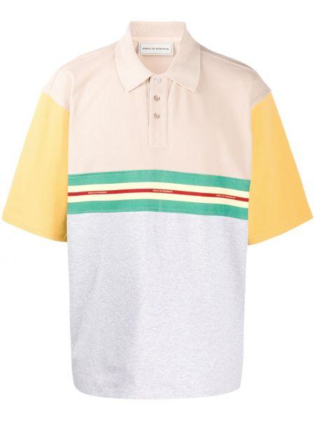 Prążkowana koszula bawełniana Drole De Monsieur