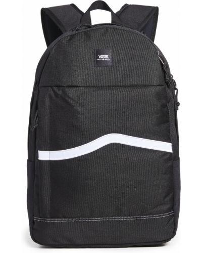 Czarny plecak na laptopa Vans