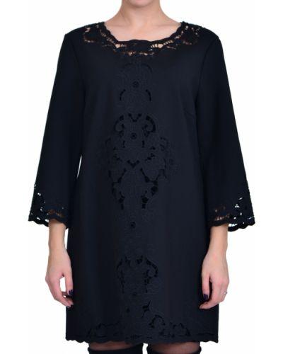 Платье из вискозы - черное Iblues