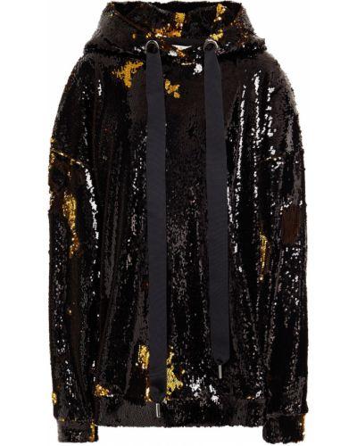 Złota bluza z kapturem z cekinami Marques Almeida